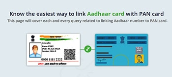 Know the easiest way to link Aadhaar card with PAN card