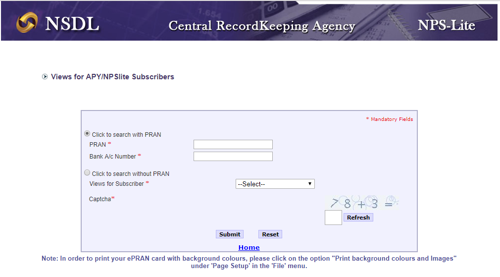 Check APY subscription with CRA