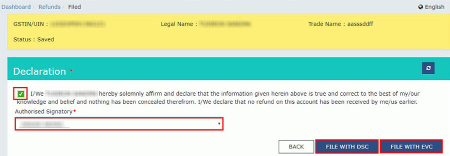 How to apply for GST Refund