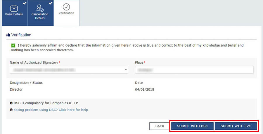 How to apply for cancellation of GST Registration?
