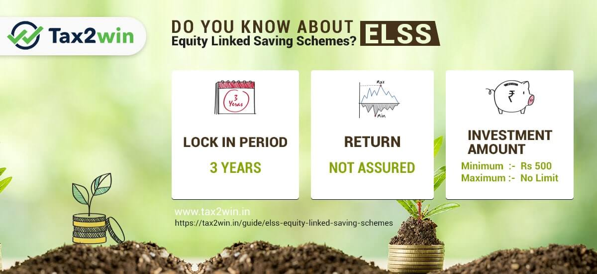 ELSS is Equity Linked Saving Scheme